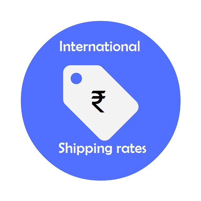 International shipping rates, requirements and procedures